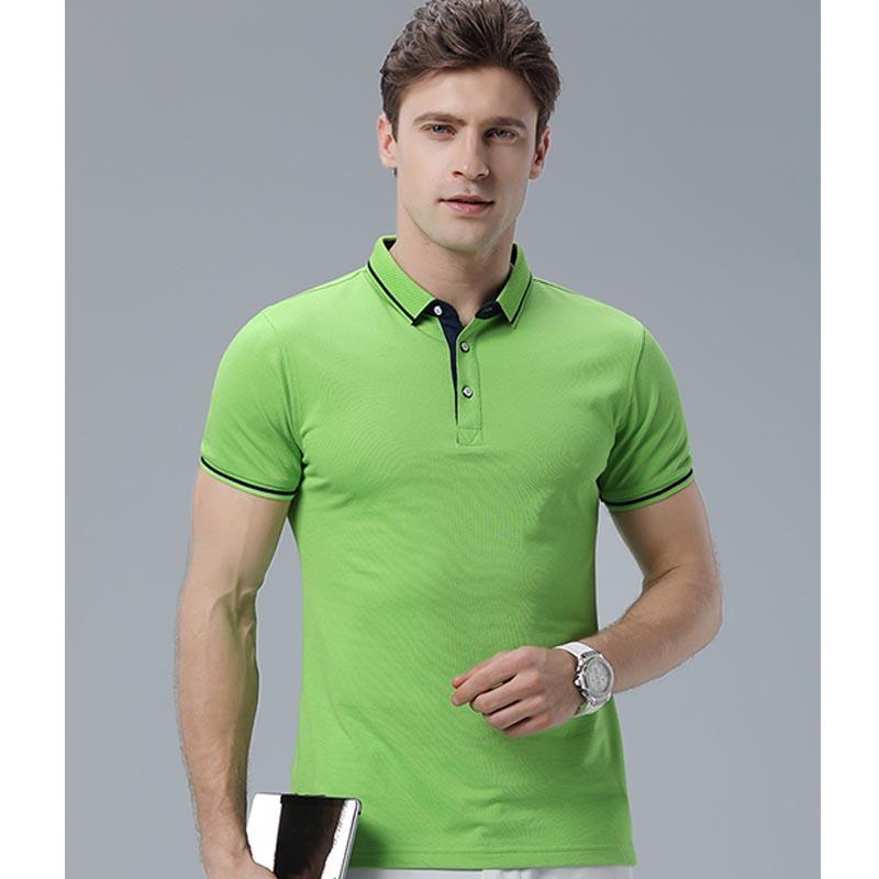 Фритюрница MILE Мужская футболка поло однотонная размер плюс (Фото 6)
