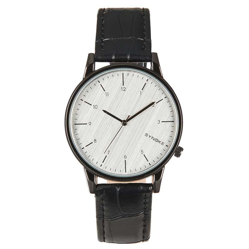 Фритюрница MILE Кварцевые наручные часы с кожаным ремешком (Фото 2)