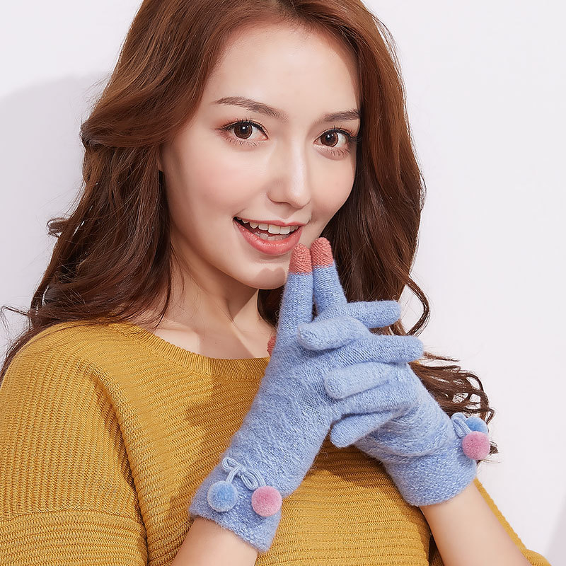 Фритюрница MILE Женские перчатки стрейч для сенсора (Фото 1)