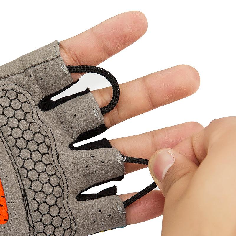 Фритюрница MILE Спортивные антискользящие перчатки без пальцев (Фото 1)