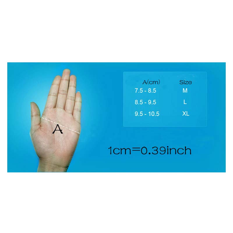 Фритюрница MILE Спортивные антискользящие перчатки без пальцев (Фото 4)