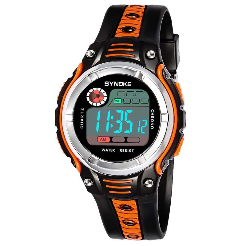 Фритюрница MILE Детские цифровые спортивные наручные часы (Фото 4)
