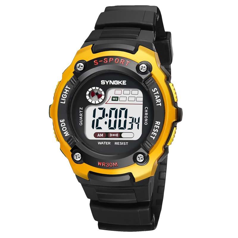Фритюрница MILE Детские электронные спортивные цифровые часы (Фото 4)