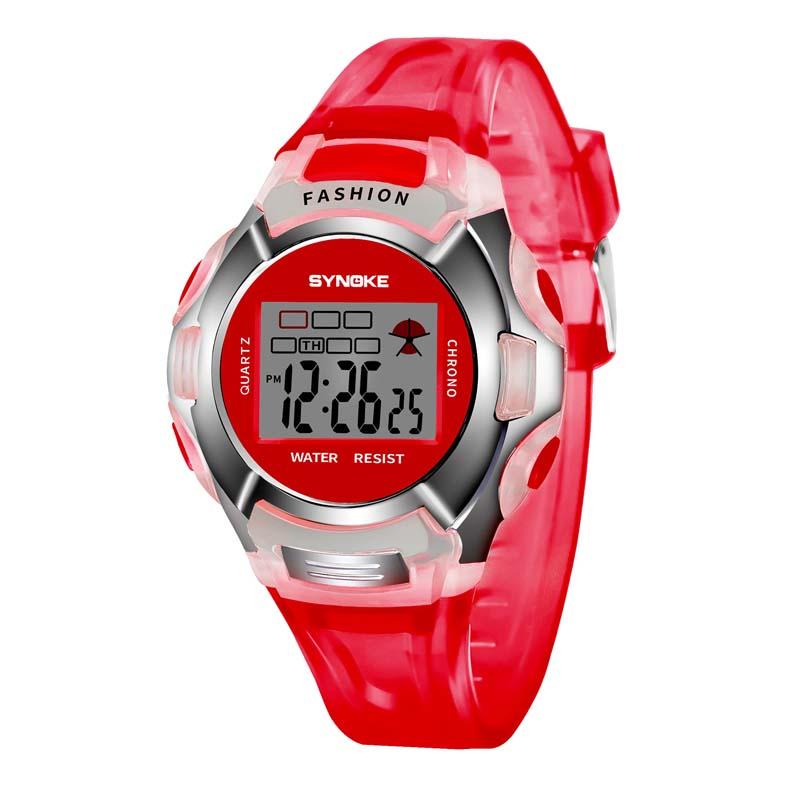 Фритюрница MILE Водонепроницаемые детские часы с LED экраном (Фото 2)