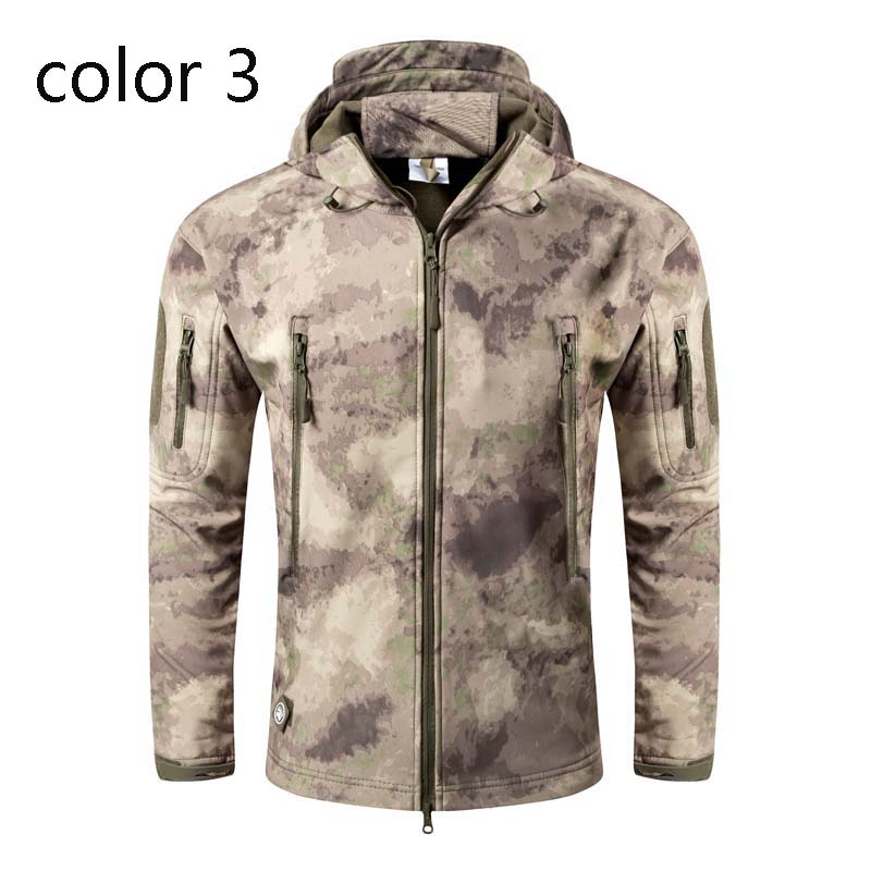 Фритюрница MILE Мужская тактическая куртка из флиса (Фото 6)