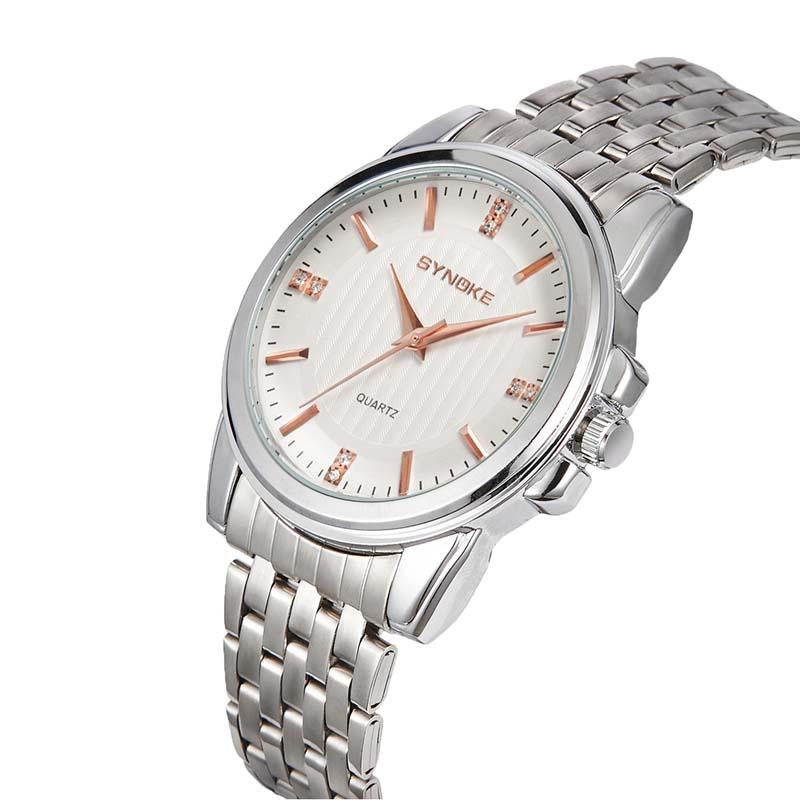 MILE Мужские наручные часы с кожаным ремешком