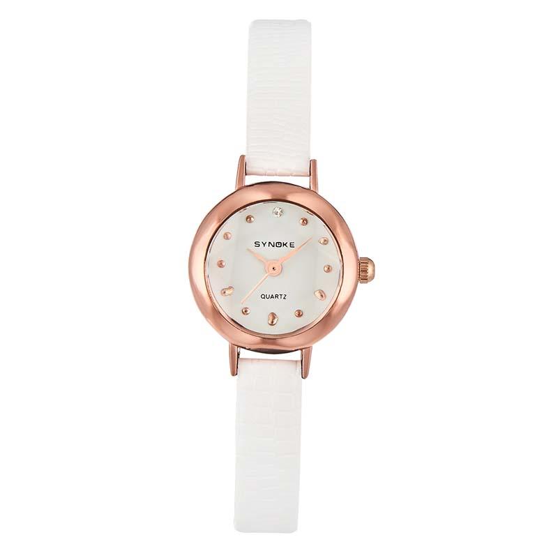 Часы Женские кварцевые наручные часы с кожаным ремешком (Photo 5)