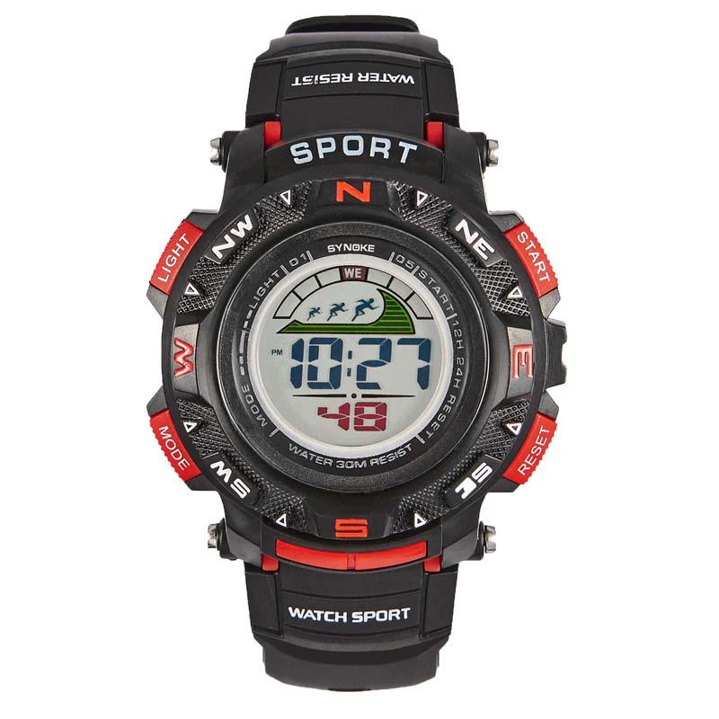 Фритюрница MILE Мужские спортивные цифровые наручные часы (Фото 4)