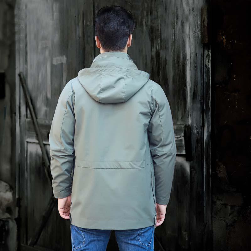 Фритюрница MILE Мужское тактическое пальто с капюшоном (Фото 3)
