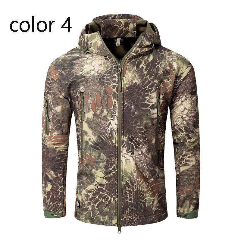 MILE Мужская тактическая куртка из флиса