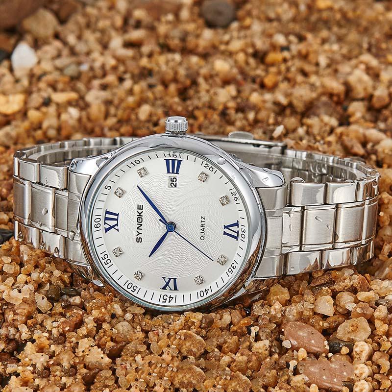Фритюрница MILE Мужские водонепроницаемые наручные часы (Фото 5)