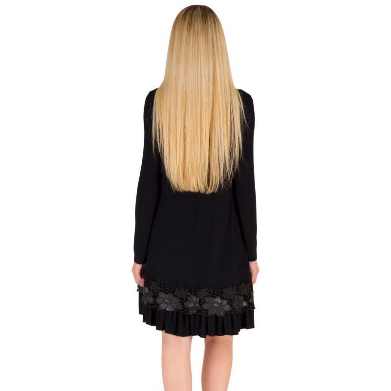 Фритюрница MILE Женское платье с длиным рукавом осень-зима (Фото 4)