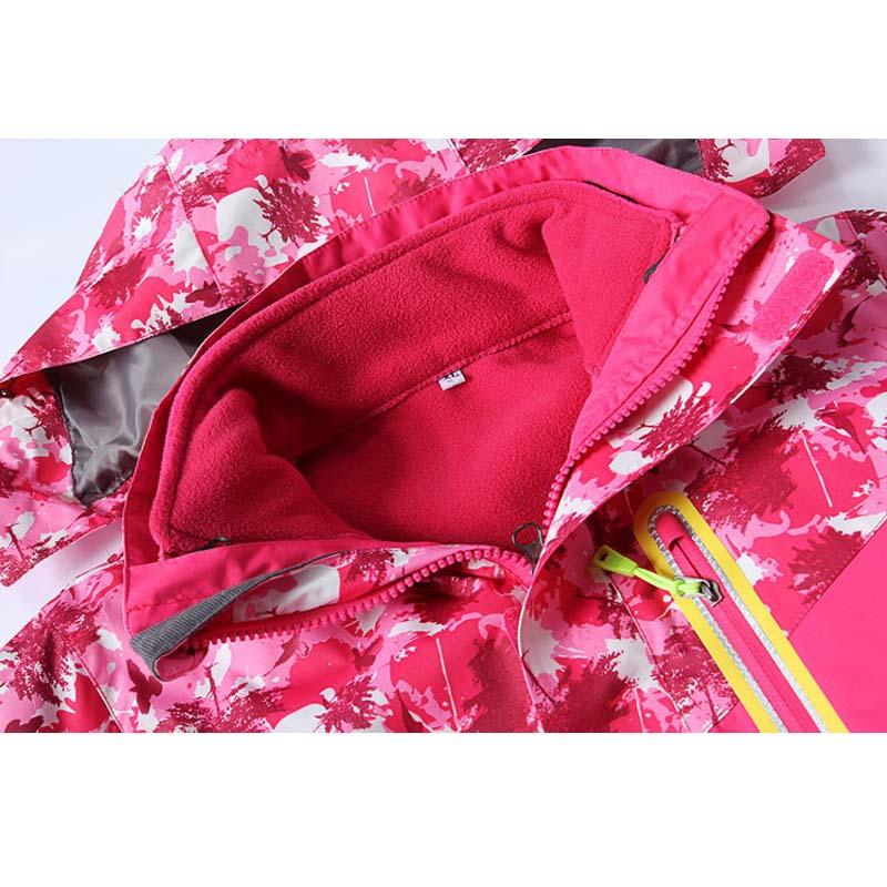 Фритюрница MILE Детская двойная спортивная куртка из флиса (Фото 4)