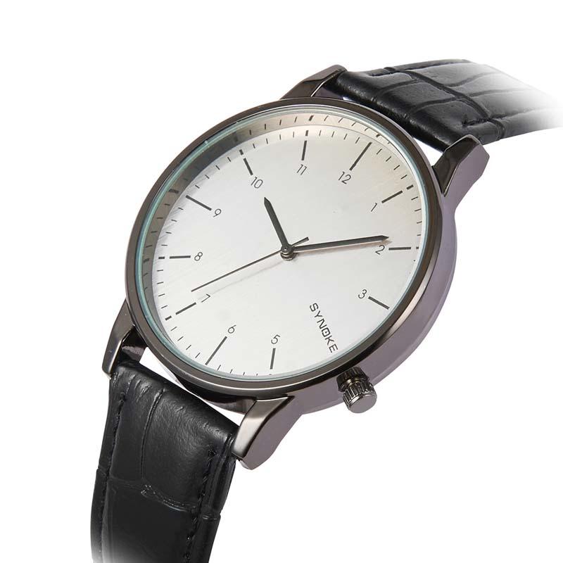Фритюрница MILE Кварцевые наручные часы с кожаным ремешком (Фото 3)