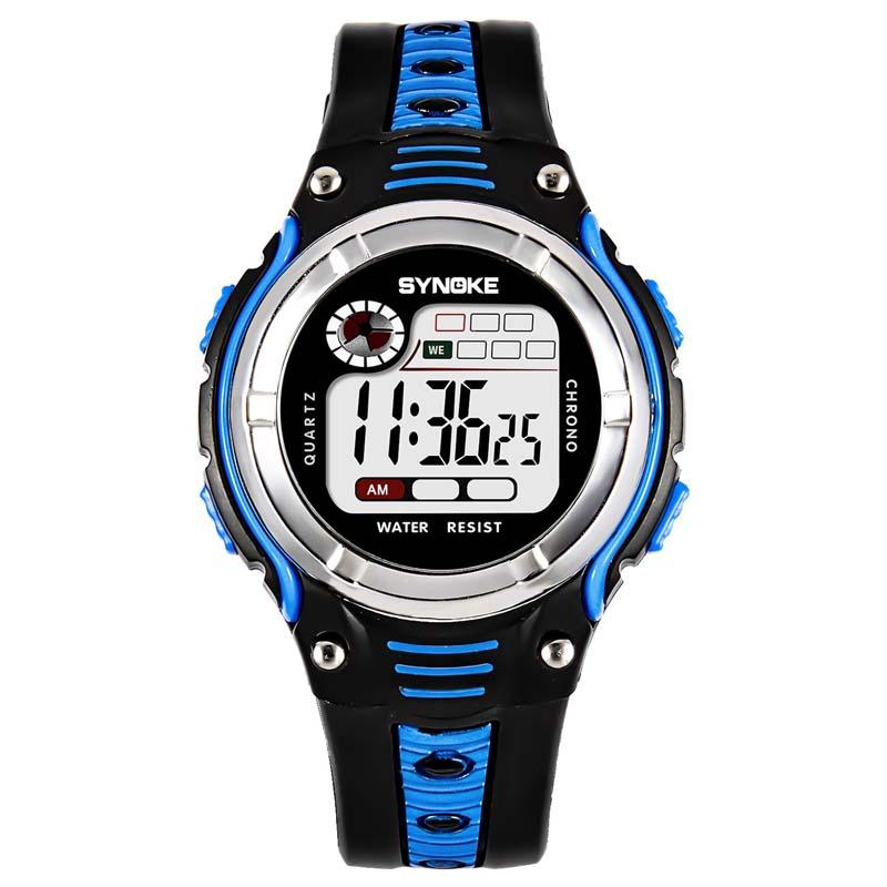 Умные часы Детские цифровые спортивные наручные часы (Photo 1)
