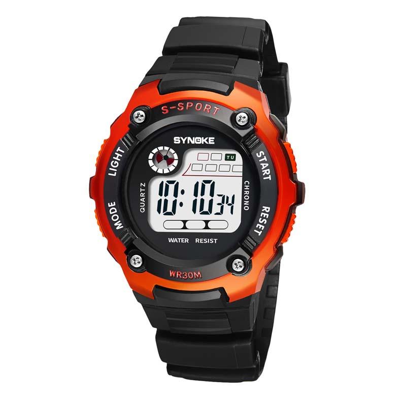 Фритюрница MILE Детские электронные спортивные цифровые часы (Фото 3)