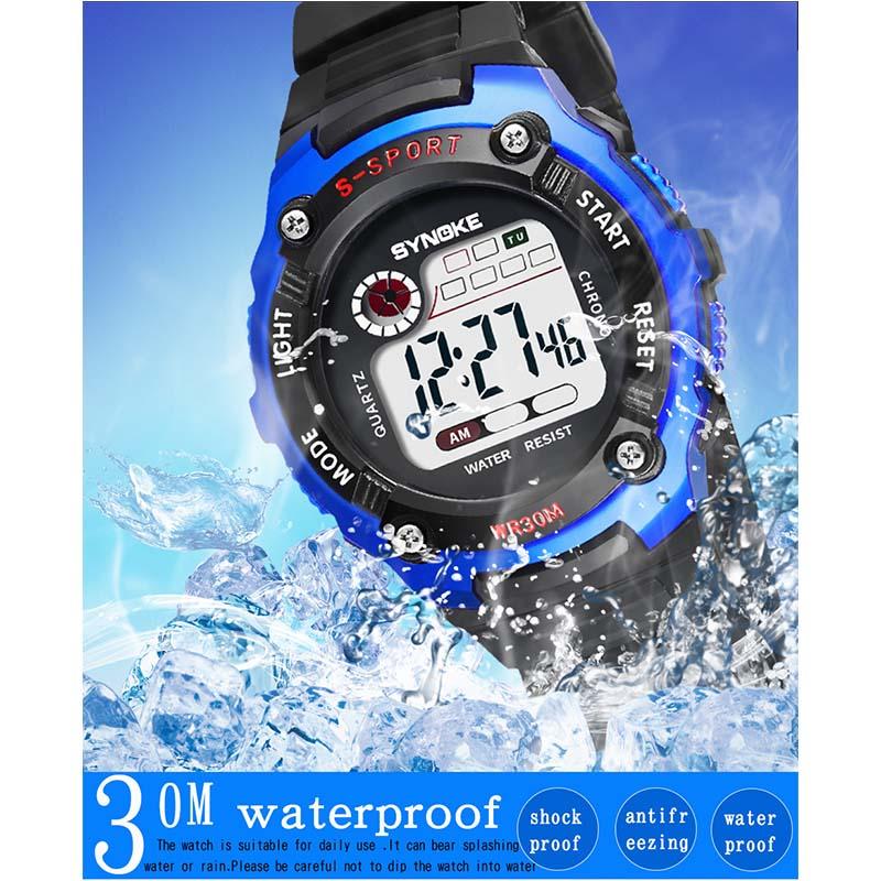 Фритюрница MILE Детские электронные спортивные цифровые часы (Фото 6)