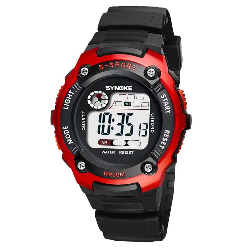 MILE Детские электронные спортивные цифровые часы