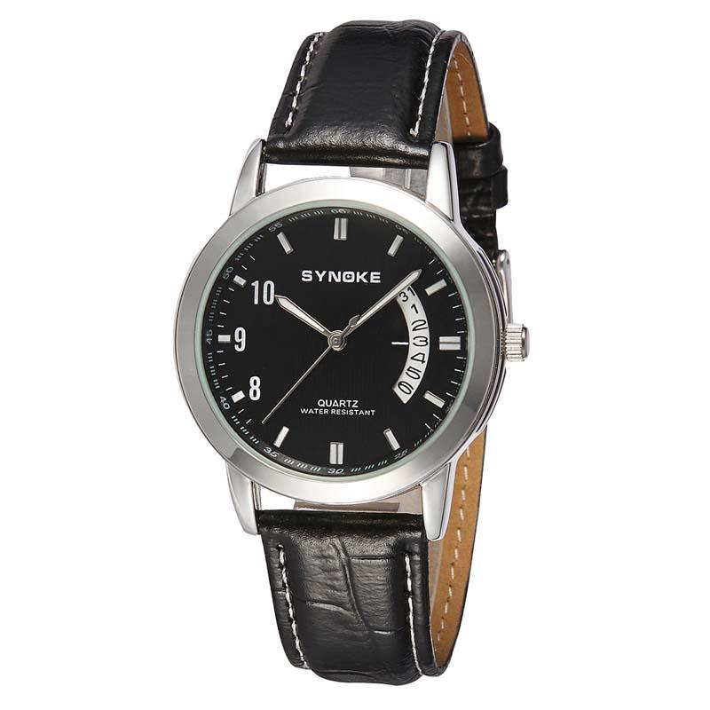 Фритюрница MILE Женские кварцевые  часы с кожаным ремешком (Фото 2)