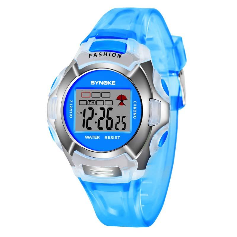 Фритюрница MILE Водонепроницаемые детские часы с LED экраном (Фото 4)