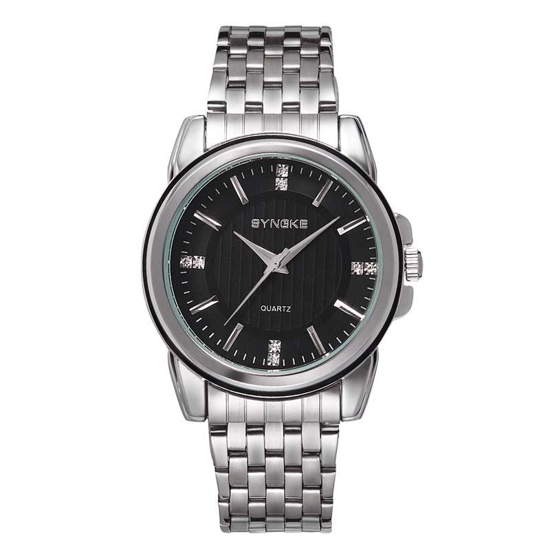 Мужские наручные часы с кожаным ремешком в деловом стиле