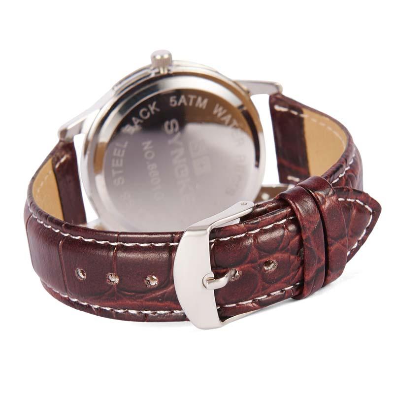 Фритюрница MILE Женские кварцевые  часы с кожаным ремешком (Фото 4)