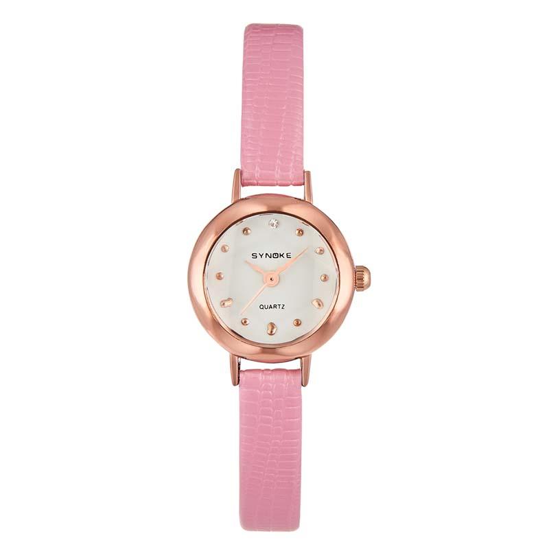 Часы Женские кварцевые наручные часы с кожаным ремешком (Photo 2)
