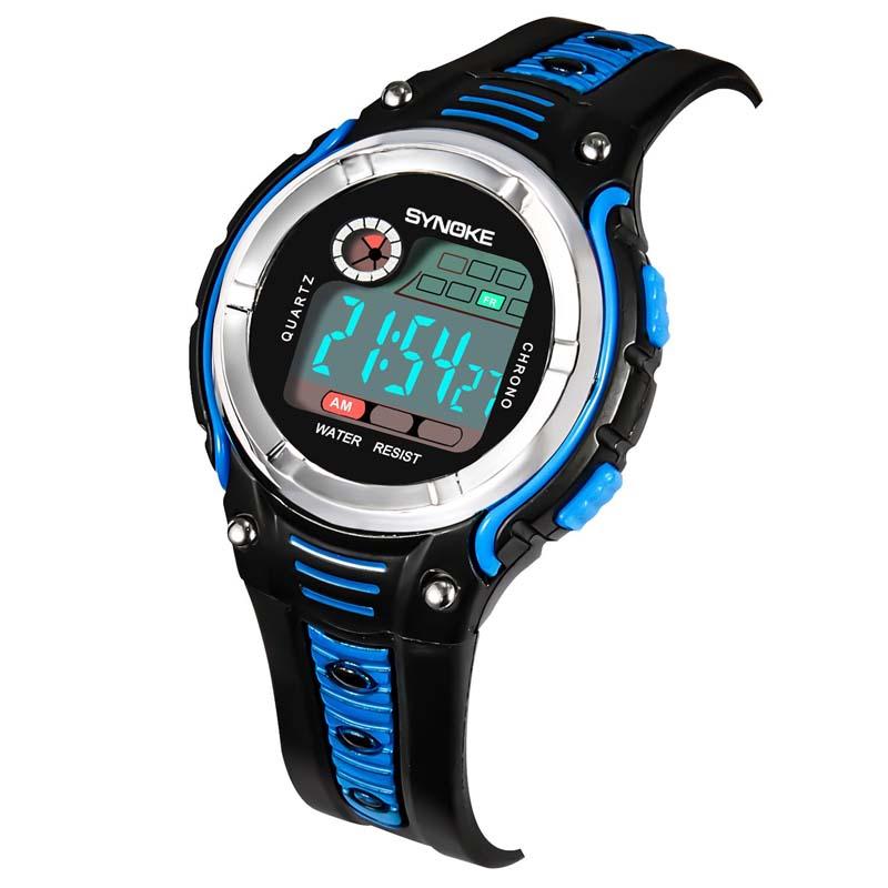 Умные часы Детские цифровые спортивные наручные часы (Photo 6)