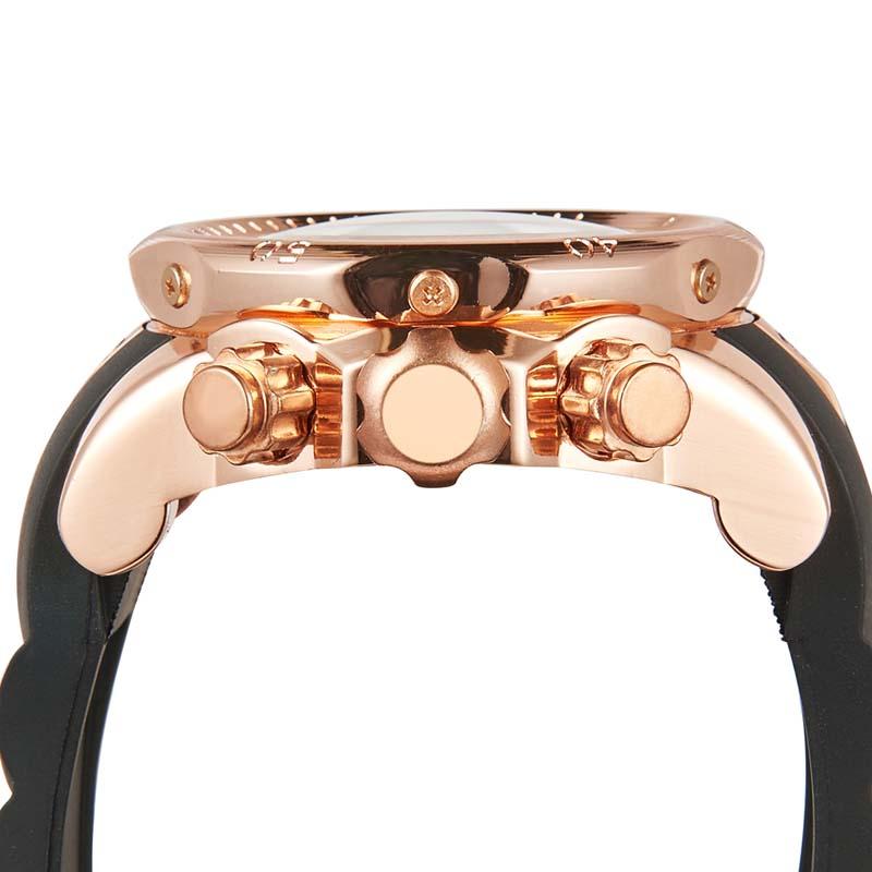 Фритюрница MILE Мужские водонепроницаемые часы с  PU кожаным ремешком (Фото 5)
