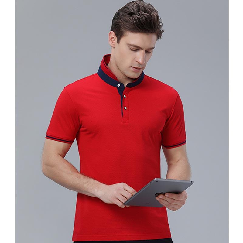Фритюрница MILE Мужская футболка поло однотонная размер плюс (Фото 4)