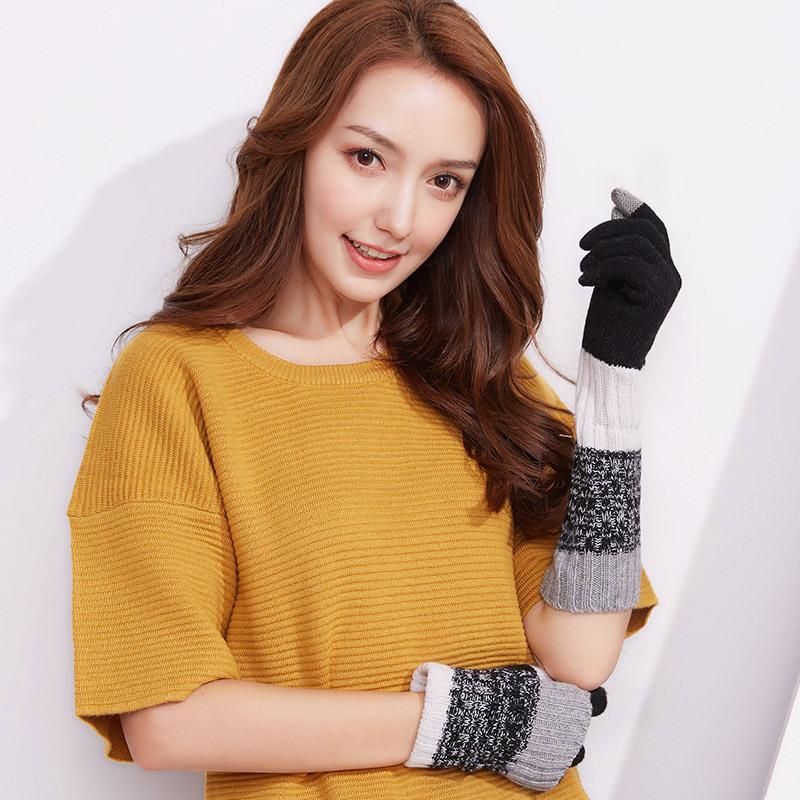 Фритюрница MILE Женские перчатки из флиса осень-зима (Фото 1)