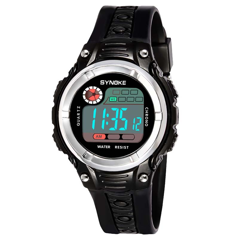 Умные часы Детские цифровые спортивные наручные часы (Photo 3)