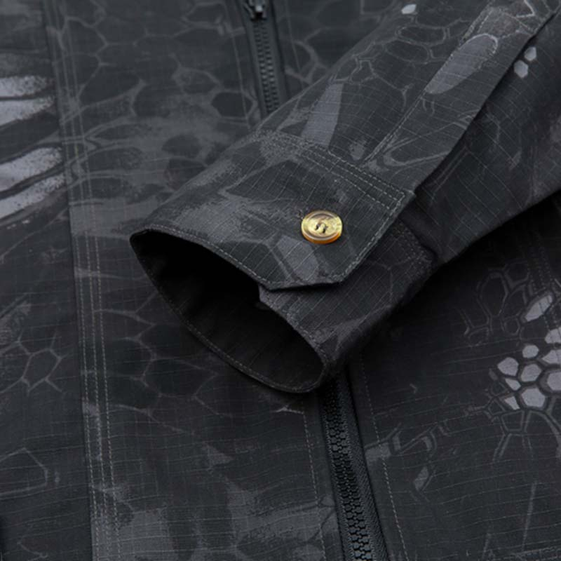 Фритюрница MILE Мужская ветрозащитная армейская куртка на замке (Фото 6)