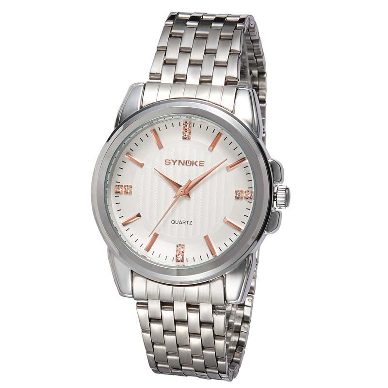Фритюрница MILE Мужские наручные часы с кожаным ремешком (Фото 2)