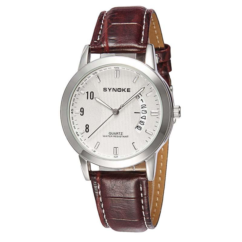 Фритюрница MILE Женские кварцевые  часы с кожаным ремешком (Фото 1)