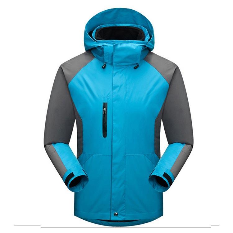 Фритюрница MILE Мужская двойная спортивная зимняя куртка из флиса (Фото 6)