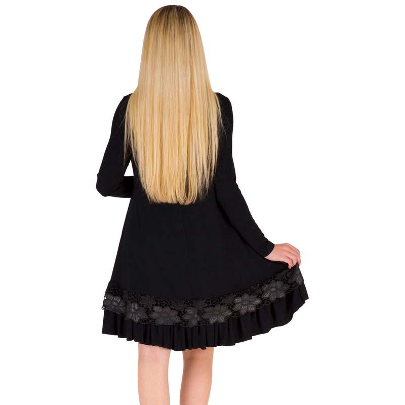 Фритюрница MILE Женское платье с длиным рукавом осень-зима (Фото 5)