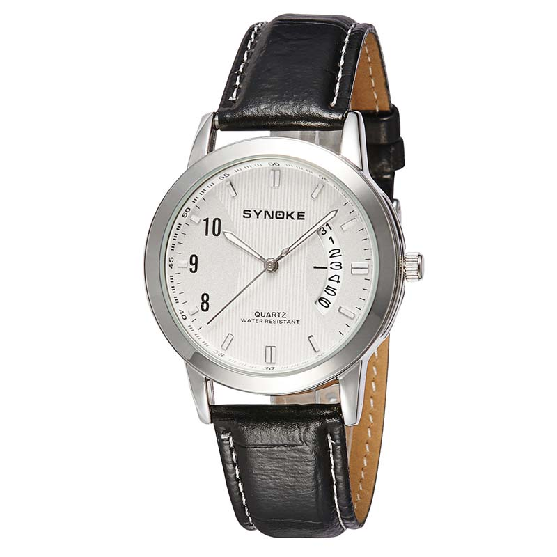 Фритюрница MILE Женские кварцевые  часы с кожаным ремешком (Фото 3)