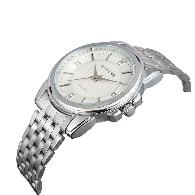 Фритюрница MILE Мужские наручные часы с кожаным ремешком (Фото 6)