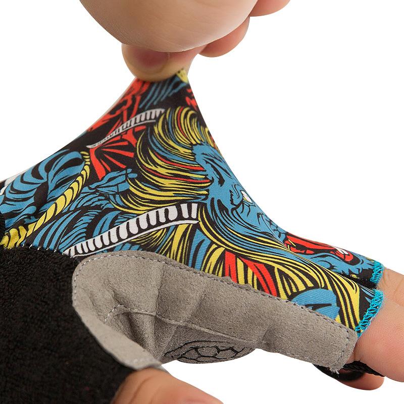 Фритюрница MILE Спортивные антискользящие перчатки без пальцев (Фото 2)