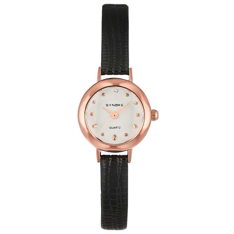 Часы Женские кварцевые наручные часы с кожаным ремешком (Photo 3)