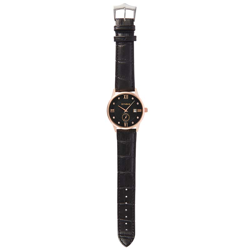 Фритюрница MILE Водонепроницаемые мужские кварцевые часы с кожаным ремешком (Фото 5)