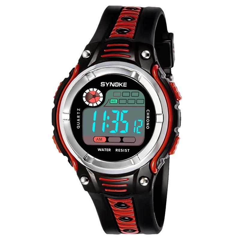 Умные часы Детские цифровые спортивные наручные часы (Photo 2)