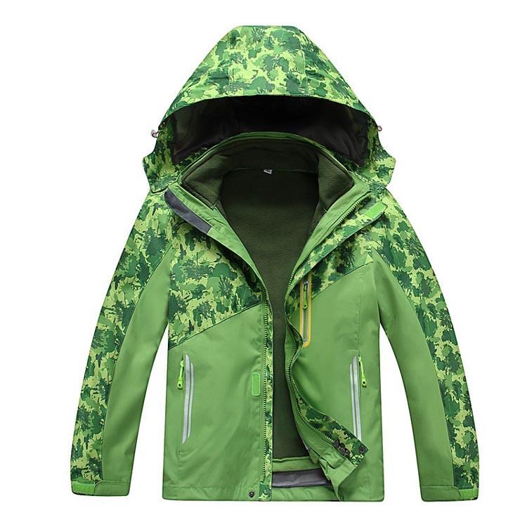 MILE Детская двойная спортивная куртка из флиса