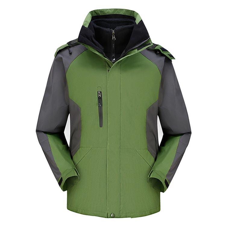 Фритюрница MILE Мужская двойная спортивная зимняя куртка из флиса (Фото 1)