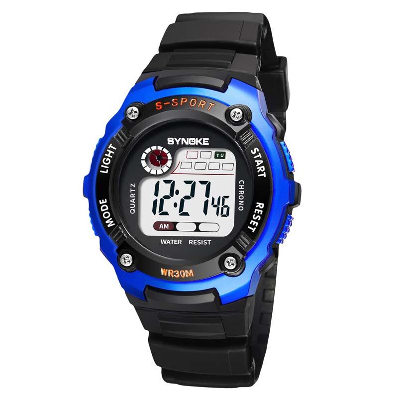 Фритюрница MILE Детские электронные спортивные цифровые часы (Фото 5)