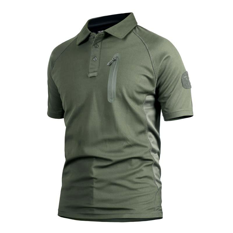 Фритюрница MILE Мужская тактическая футболка с карманом (Фото 1)