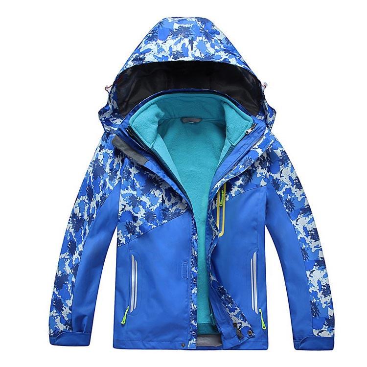 Фритюрница MILE Детская двойная спортивная куртка из флиса (Фото 1)