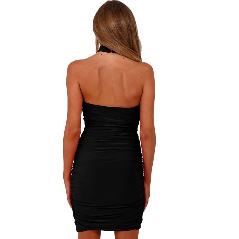Фритюрница MILE Летнее бандажное платье с открытым декольте (Фото 3)