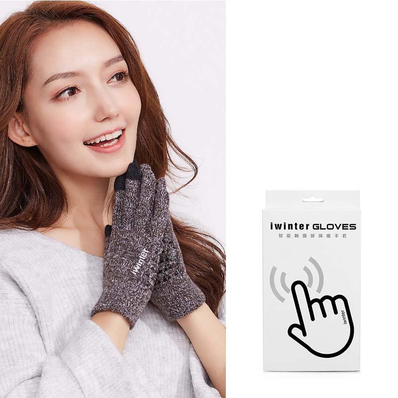 Фритюрница MILE Женские перчатки из флиса для сенсора осень-зима (Фото 1)